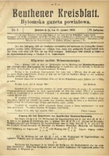 Beuthener Kreisblatt, 1929, Jg. 87, Nr. 2