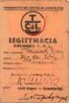 Towarzystwo Czytelni Ludowych. Legitymacja Członka T.C.L.