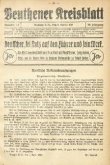 Beuthener Kreisblatt, 1938, Jg. 96, Nr. 14
