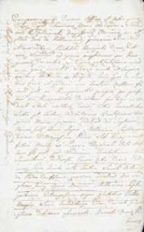 Testament Alexandra Hradomzkiego z 1782 r.