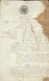 Testament Teodora Wyzochima z 1860 r.