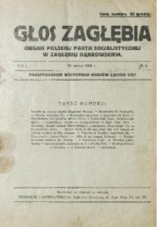 Głos Zagłębia, 1924, R. 1, no 4
