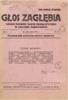 Głos Zagłębia, 1924, R. 1, no 35
