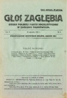 Głos Zagłębia, 1925, R. 2, no 3