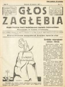 Głos Zagłębia, 1927, R. 4, nr 5