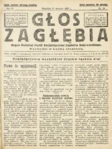 Głos Zagłębia, 1927, R. 4, nr 34