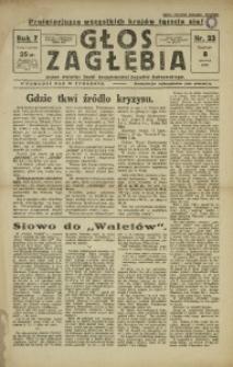 Głos Zagłębia, 1930, R. 7, nr 23