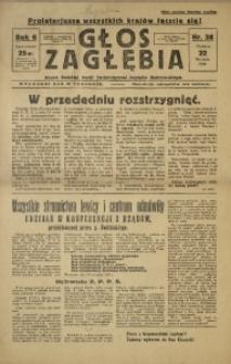 Głos Zagłębia, 1930, R. 7, nr 38