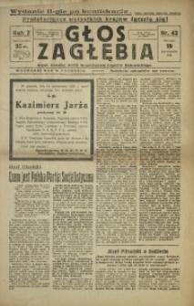 Głos Zagłębia, 1930, R. 7, nr 42