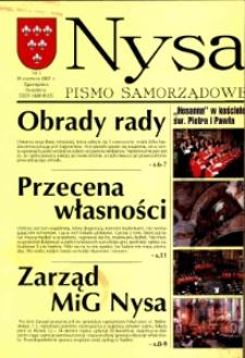Nysa : pismo samorządowe 1997, nr 1.