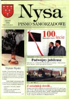 Nysa : pismo samorządowe 1998, [nr 5].