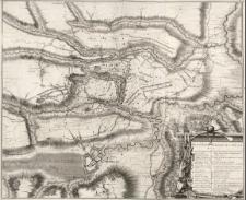 Plan de la Bataille d'Oudenaerde du 11 Juillet 1708