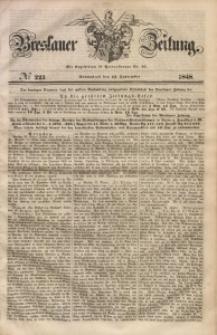 Breslauer Zeitung, 1848, No 223