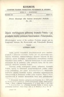 Kosmos. Serja A, 1937, R. 62, z. 4