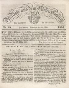 Der Bote aus dem Riesen-Gebirge, 1852, Jg. 40, Nr. 25