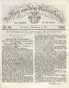 Der Bote aus dem Riesen-Gebirge, 1852, Jg. 40, Nr. 40