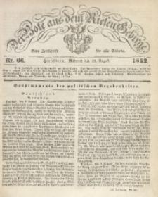 Der Bote aus dem Riesen-Gebirge, 1852, Jg. 40, Nr. 66