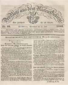 Der Bote aus dem Riesen-Gebirge, 1853, Jg. 41, Nr. 46