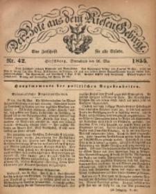 Der Bote aus dem Riesen-Gebirge, 1855, Jg. 43, Nr. 42