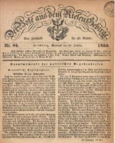 Der Bote aus dem Riesen-Gebirge, 1855, Jg. 43, Nr. 85