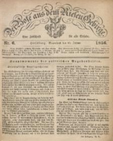 Der Bote aus dem Riesen-Gebirge, 1856, Jg. 44, Nr. 6