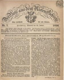 Der Bote aus dem Riesen-Gebirge, 1856, Jg. 44, Nr. 7