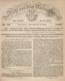 Der Bote aus dem Riesen-Gebirge, 1856, Jg. 44, Nr. 30