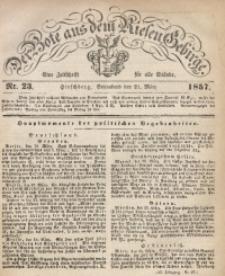 Der Bote aus dem Riesen-Gebirge, 1857, Jg. 45, Nr. 23