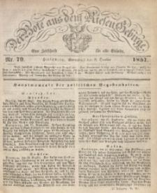 Der Bote aus dem Riesen-Gebirge, 1857, Jg. 45, Nr. 79