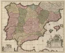 Hispaniae et Portugaliae Regna Per Nicolaum Visscher Cum Privilegio Ordinum Hollandiae et Westfrisiae