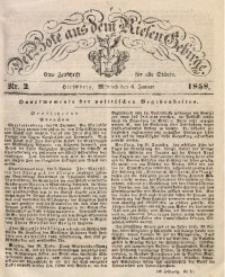 Der Bote aus dem Riesen-Gebirge, 1858, Jg. 46, Nr. 2