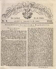 Der Bote aus dem Riesen-Gebirge, 1858, Jg. 46, Nr. 9