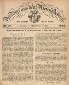 Der Bote aus dem Riesen-Gebirge, 1858, Jg. 46, Nr. 48