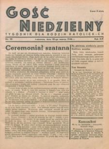 Gość Niedzielny, 1946, R. 19, nr 10