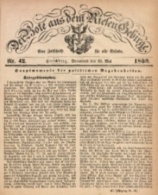 Der Bote aus dem Riesen-Gebirge, 1859, Jg. 47, Nr. 42