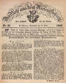 Der Bote aus dem Riesen-Gebirge, 1860, Jg. 48, Nr. 34