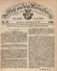 Der Bote aus dem Riesen-Gebirge, 1860, Jg. 48, Nr. 38