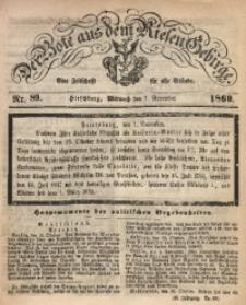 Der Bote aus dem Riesen-Gebirge, 1860, Jg. 48, Nr. 89