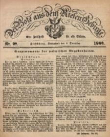 Der Bote aus dem Riesen-Gebirge, 1860, Jg. 48, Nr. 98