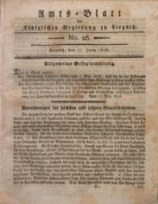 Amts-Blatt der Königlichen Regierung zu Liegnitz, 1818, Jg. 8, No. 26