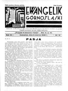 Ewangelik Górnośląski, 1938, R. 7, nr 10