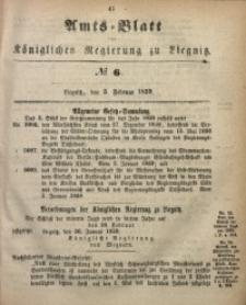 Amts-Blatt der Königlichen Regierung zu Liegnitz, 1859, Jg. 49, No. 6