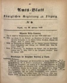 Amts-Blatt der Königlichen Regierung zu Liegnitz, 1859, Jg. 49, No. 9