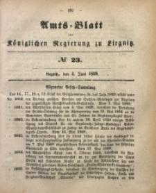 Amts-Blatt der Königlichen Regierung zu Liegnitz, 1859, Jg. 49, No. 23