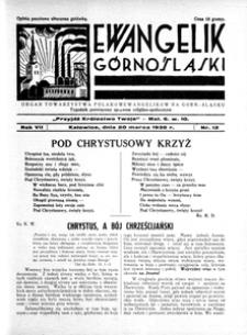 Ewangelik Górnośląski, 1938, R. 7, nr 13