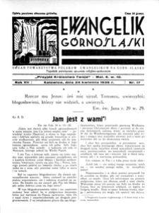 Ewangelik Górnośląski, 1938, R. 7, nr 18