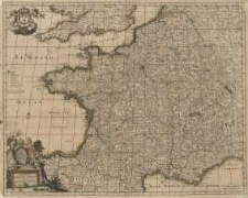 Accuratissima Galliae Vulgo Royaume de France Per Joannem De Ram
