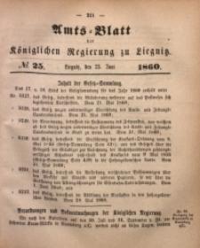 Amts-Blatt der Königlichen Regierung zu Liegnitz, 1860, Jg. 50, No. 25