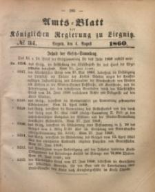 Amts-Blatt der Königlichen Regierung zu Liegnitz, 1860, Jg. 50, No. 31