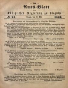 Amts-Blatt der Königlichen Regierung zu Liegnitz, 1862, Jg. 52, No. 21